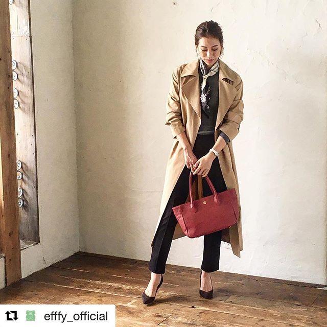 #Repost @efffy_official with @repostapp・・・革バッグ・ 革財布・efffy スタンダードモデルのご紹介です。日本製牛革を使用したトートバック。エンボス加工を施した細かいシボ感が魅力的で、キズも目立ちにくくお気軽にお使いいただけます。シンプルなデザインでデイリーコーデからオフィスコーデまで幅広く対応でき、エレカジ感を演出します!no_VJ1-12 color_RE ¥16,500(+tax)www.efffy.com efffy coredomuromachiefffy nagoyaefffy's closet machidaefffy's closet Chofuefffy's closet yokohama efffy's closet saitamashintoshinefffy's closet takasaki OPAefffy's closet nishinomiya#efffy#efffys_closet_official#madeinjapan#handbag#leatherbag#leather#sacsbar#gransacs#sacsbarjean#日本製#革バッグ