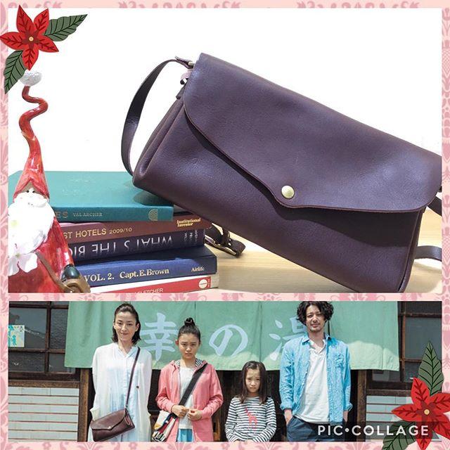 【革バッグ 革財布 kissora】お知らせです!本日#テレビ東京 にて21:00から#湯を沸かすほどの熱い愛 が放送されますが、その中で#kissora のショルダーバッグが使われていますこちらのショルダーバッグ、中が小分けなっているので物が整理しやすく、とっても使いやすいのです#宮沢りえ さんが演じる#幸野双葉 が使っているこのバッグ、ぜひ一度店頭にてご覧ください♪お色も全6色ございます,,ショルダーバッグ(KIKN-039) ¥16500+tax,,#efffyscloset #kissora #町田 #町田東急ツインズ #東急ツインズ #kurukuru町田 #革 #革バッグ #ショルダーバッグ #日本製 #映画 #湯を沸かすほどの熱い愛 #テレビ東京 #今夜