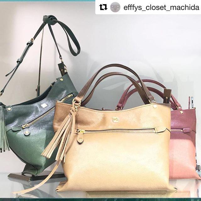 #Repost @efffys_closet_machida (@get_repost)・・・【革バッグ 革財布 efffy】新作バッグのご紹介です︎バングラデシュ産のキップ牛革を使った素敵なバッグですショルダーにもなるのでお出かけにピッタリカラーは秋から使える全4色となっております。ぜひ店頭にてご覧ください(^○^) 2wayバッグ(TS1-23) ¥24000+tax#efffyscloset #efffy #町田 #町田東急ツインズ #東急ツインズ #kurukuru町田 #革 #革バッグ #ハンドバッグ #ショルダーバッグ #バングラデシュ