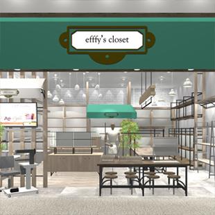 efffyのNEW SHOPがOPEN致します!<br />「efffy's closet 西宮ガーデンズ店」
