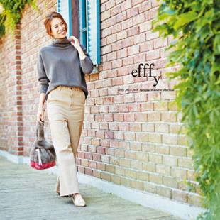 efffy 2017-2018 Autumn & Winter collectionカタログの店頭配布が本日から始まりました。