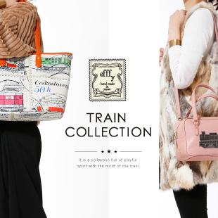 注目のefffy Train Collectionの商品が入荷しました!