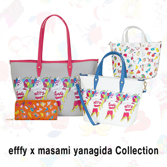 efffy x masami yanagida Collectionが入荷しました!