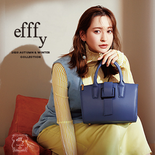 efffy 2020 Autumn & Winter Collection catalogを更新しました